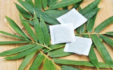 Відвар з листя бамбука для профілактики глистів